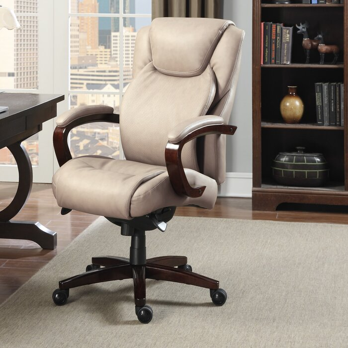La-Z-Boy Linden Executive Chair & Reviews   Wayfair.ca on lazy boy chair, hickory office chair, lawn chair, double reclining patio chair, judges chair, wicker recliner chair, lane office chair, mustang office chair, la z boy leather chair,