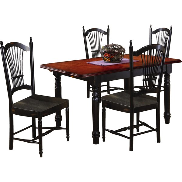 Darby Home Co Lozano Butterfly Extension Dining Table