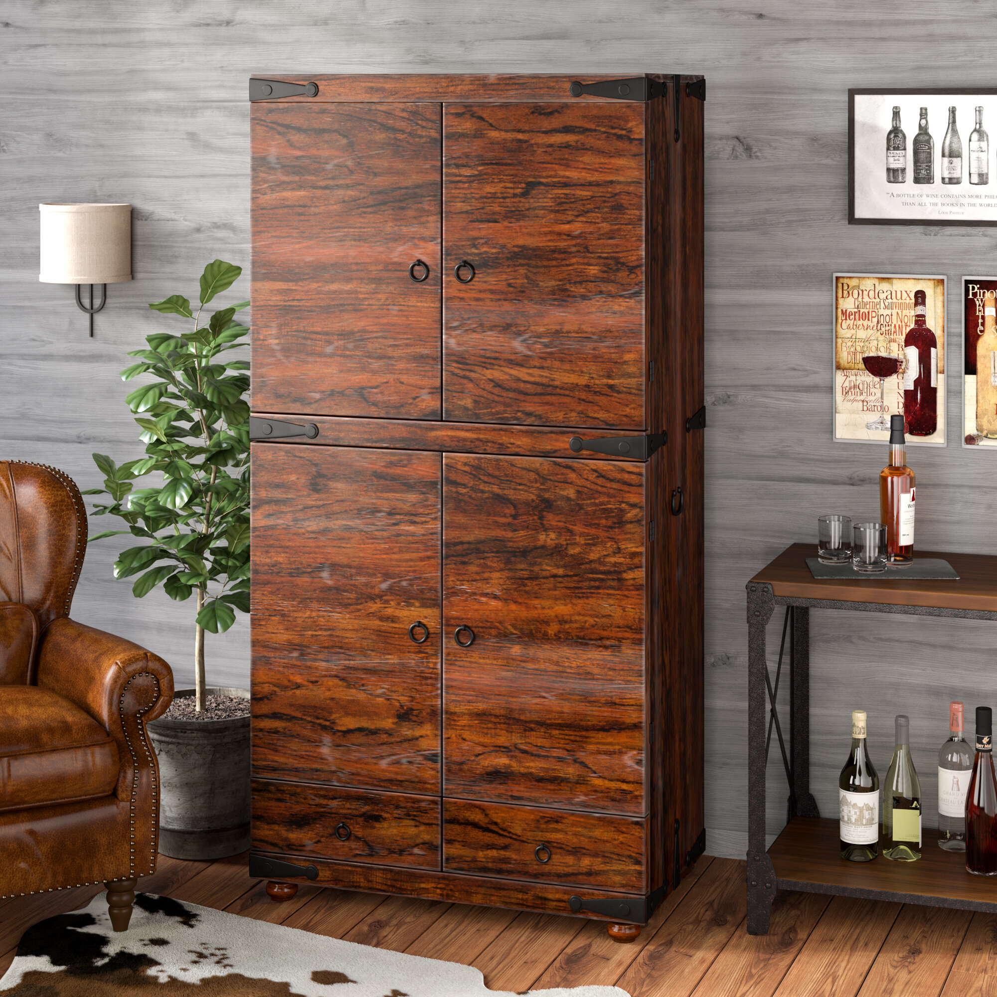 Charmant Loon Peak Coleman Bar Cabinet | Wayfair