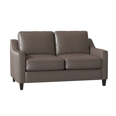 Modern Leather Standard Sofas Couches Allmodern