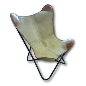 Retro Lounge Chair with Cushion
