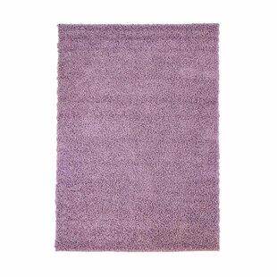 Shag Purple Rug by Carpet City