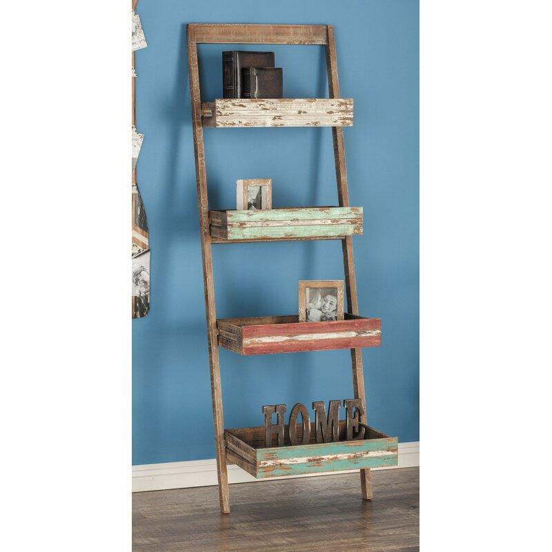 72e1d71f6f62 Cole & Grey Ladder Bookcase & Reviews   Wayfair