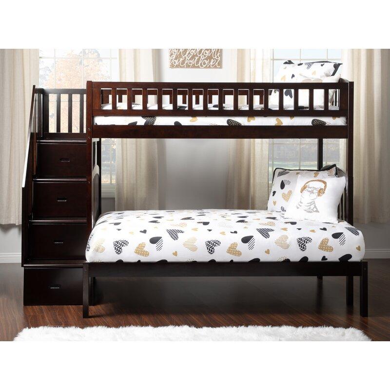 Atlantic Furniture Westbrook Twin Over Full Bunk Bed Wayfair