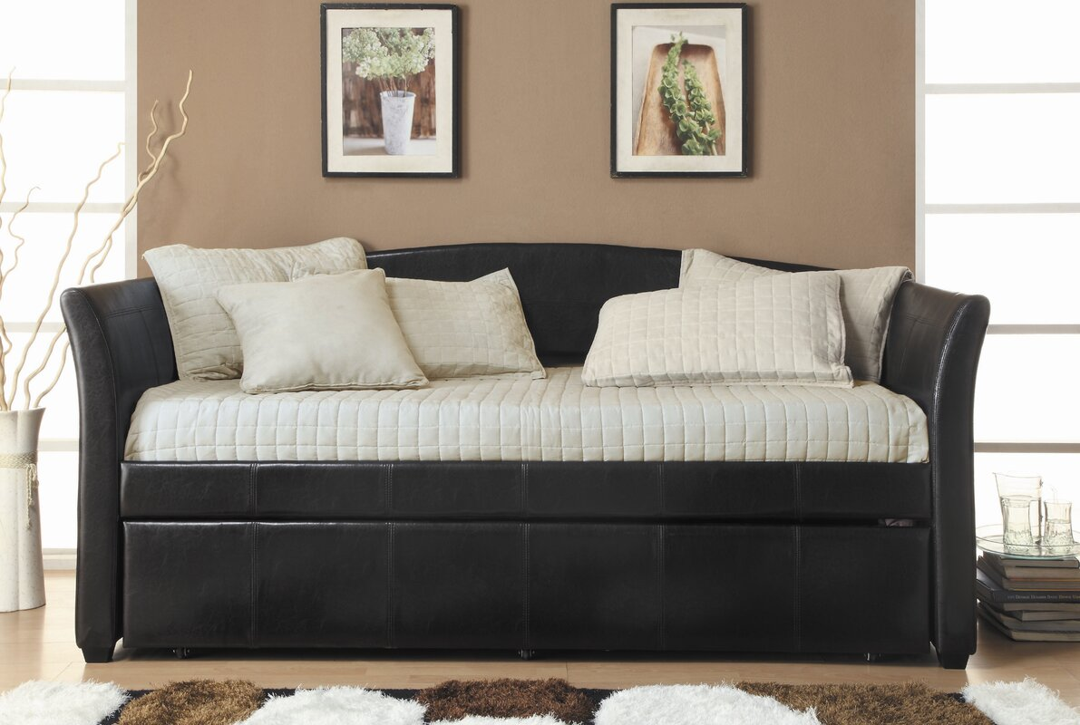 Meyer Daybed with Trundle - Woodhaven Hill Meyer Daybed With Trundle & Reviews Wayfair