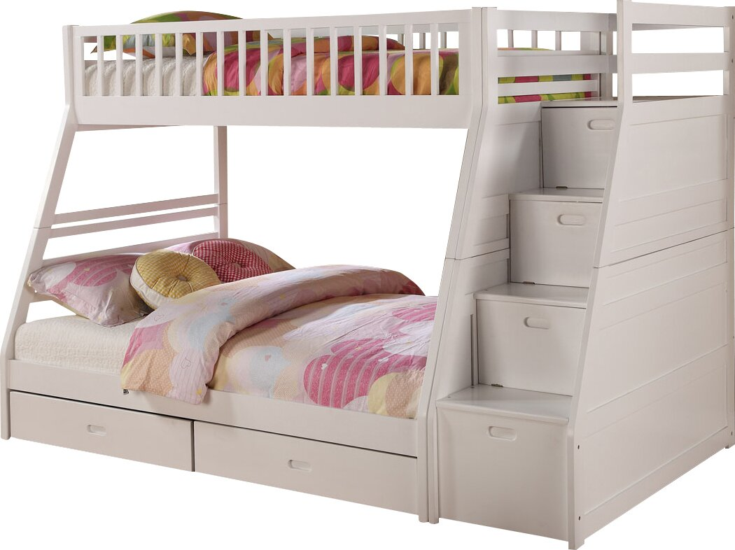 Country Cottage Bathroom Ideas Viv Rae Pierre Twin Over Full Bunk Bed With Storage