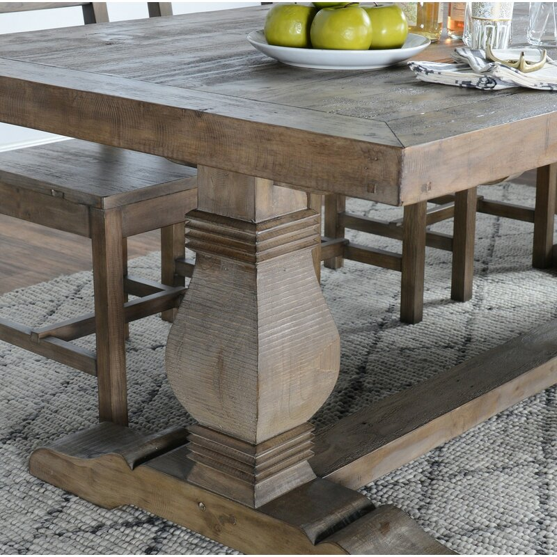 Gertrude Solid Wood Dining Table