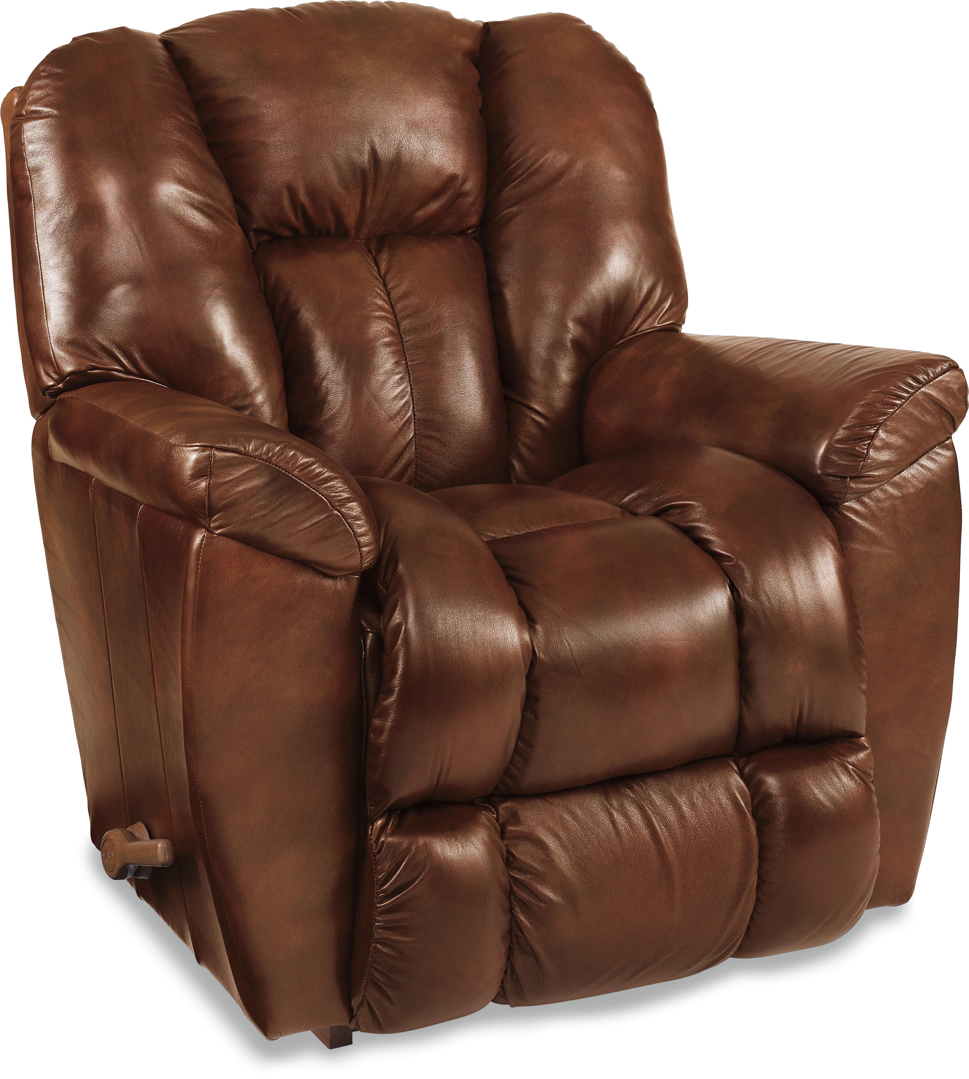 La Z Boy Maverick Leather Recliner U0026 Reviews   Wayfair