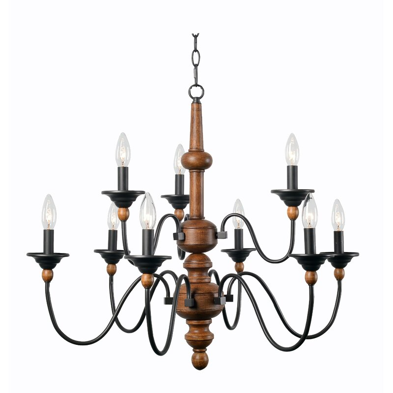 delightful Wildon Home Chandelier Part - 12: Athis Spencer Candle-Style Chandelier