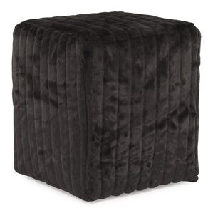 Bancroft Woods Cube Ottoman by Red Barrel St..