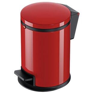 13 Gallon Red Trash Can Wayfair