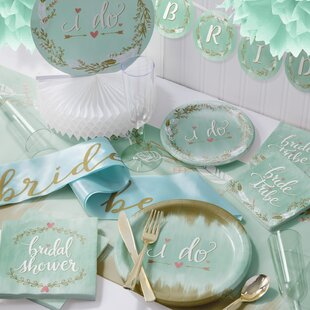 to be deluxe bridal shower party supplies kit