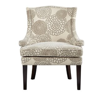 Floral Wingback Chair by Madison Park ..