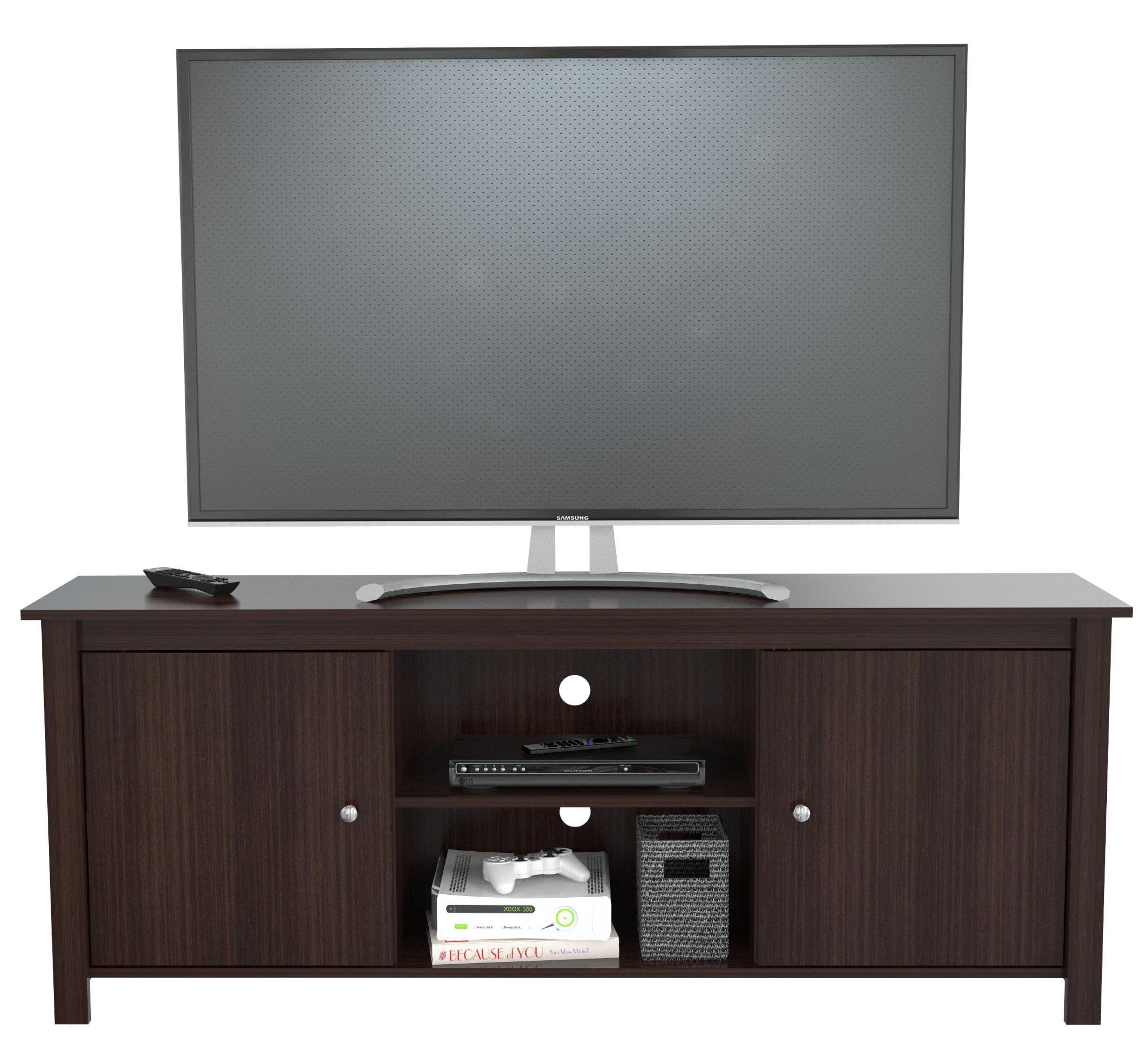 Latitude Run Imane Engineered Wood Tv Stand For Tvs Up To 60 Wayfair