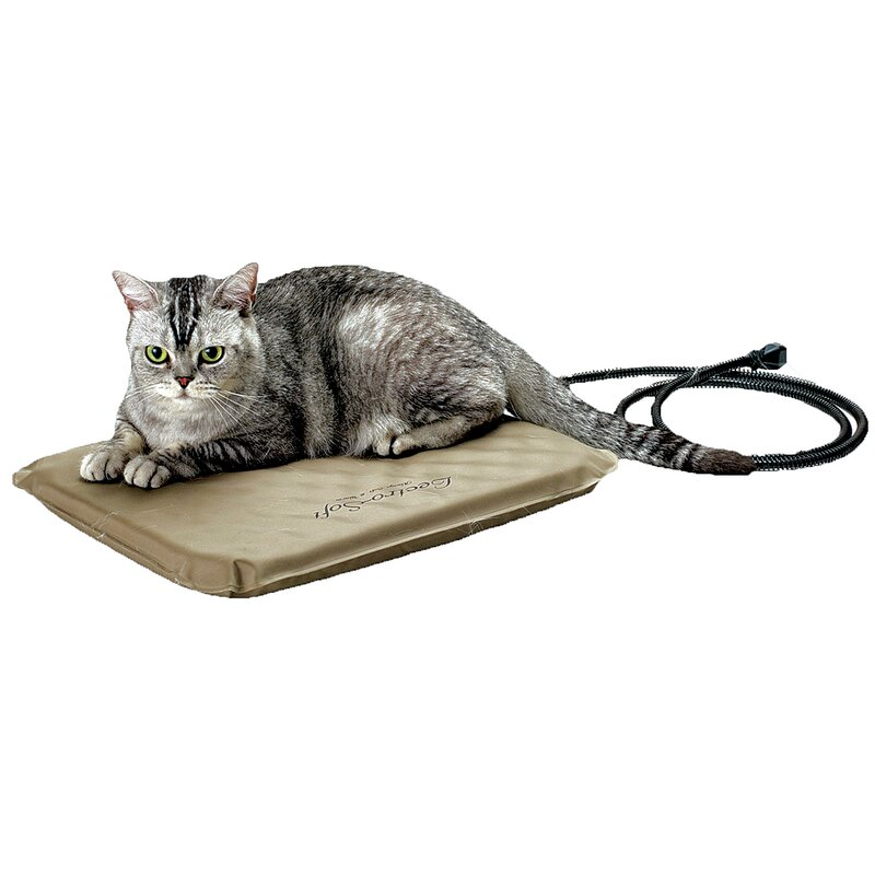 K Amp H Manufacturing Lectro Soft Heated Dog Pad With Cover