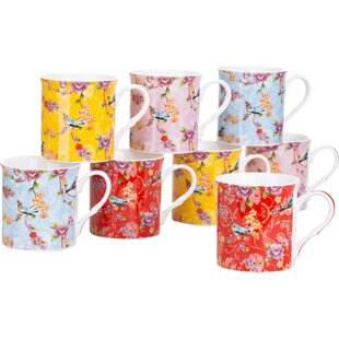 Bird Of Paradise Mug Set 8