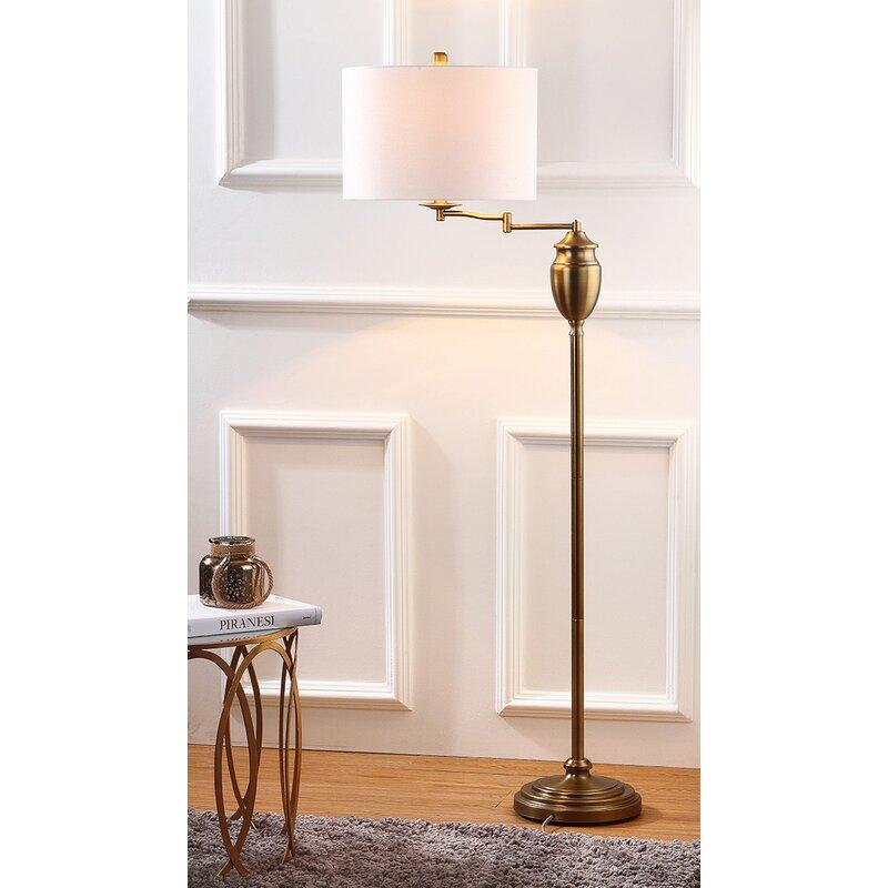 floor shop deal spectacular weston arm on swing floors lamp