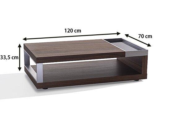 home haus couchtisch mit stauraum bewertungen. Black Bedroom Furniture Sets. Home Design Ideas