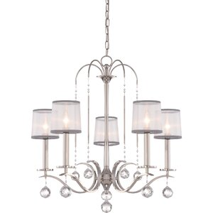 Bellecourt 5-Light Shaded Chandelier