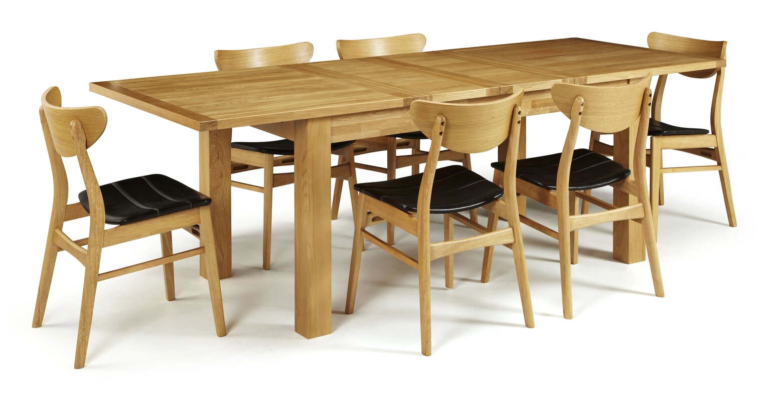 Home & Haus Mykonos Extendable Dining Table & Reviews