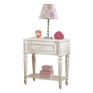 Dorothy Ivory 1 Drawer Nightstand by ACME Furniture