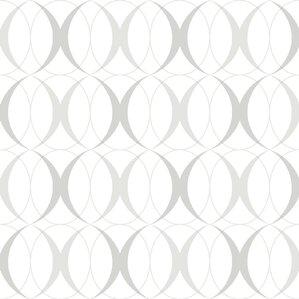 thin silver line wallpaper. nu 18\u0027 x 20.5\ thin silver line wallpaper c