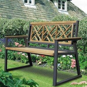 California Room Chippendale Teak and Iron Garden BenchTeak Patio Furniture You ll Love   Wayfair. Teak Wooden Outdoor Furniture. Home Design Ideas