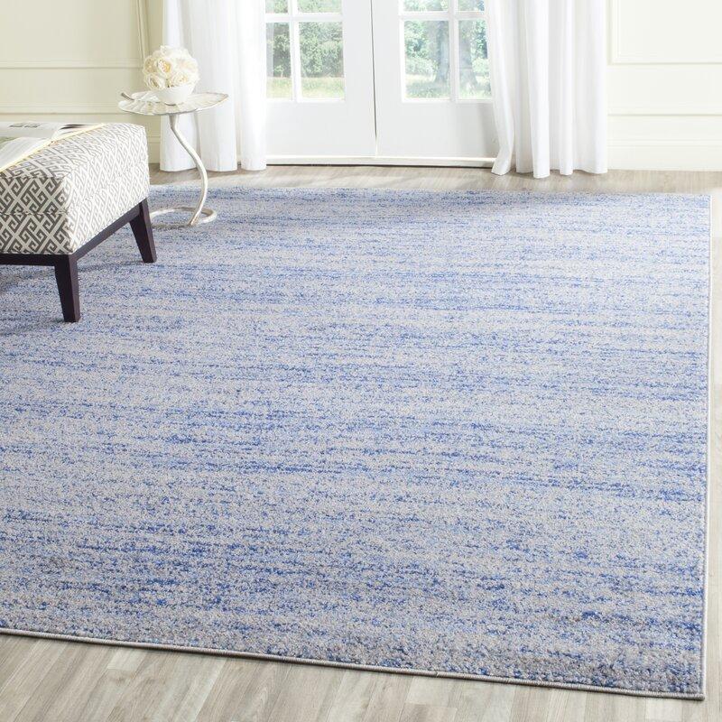 Millbrae Blue/Silver Area Rug