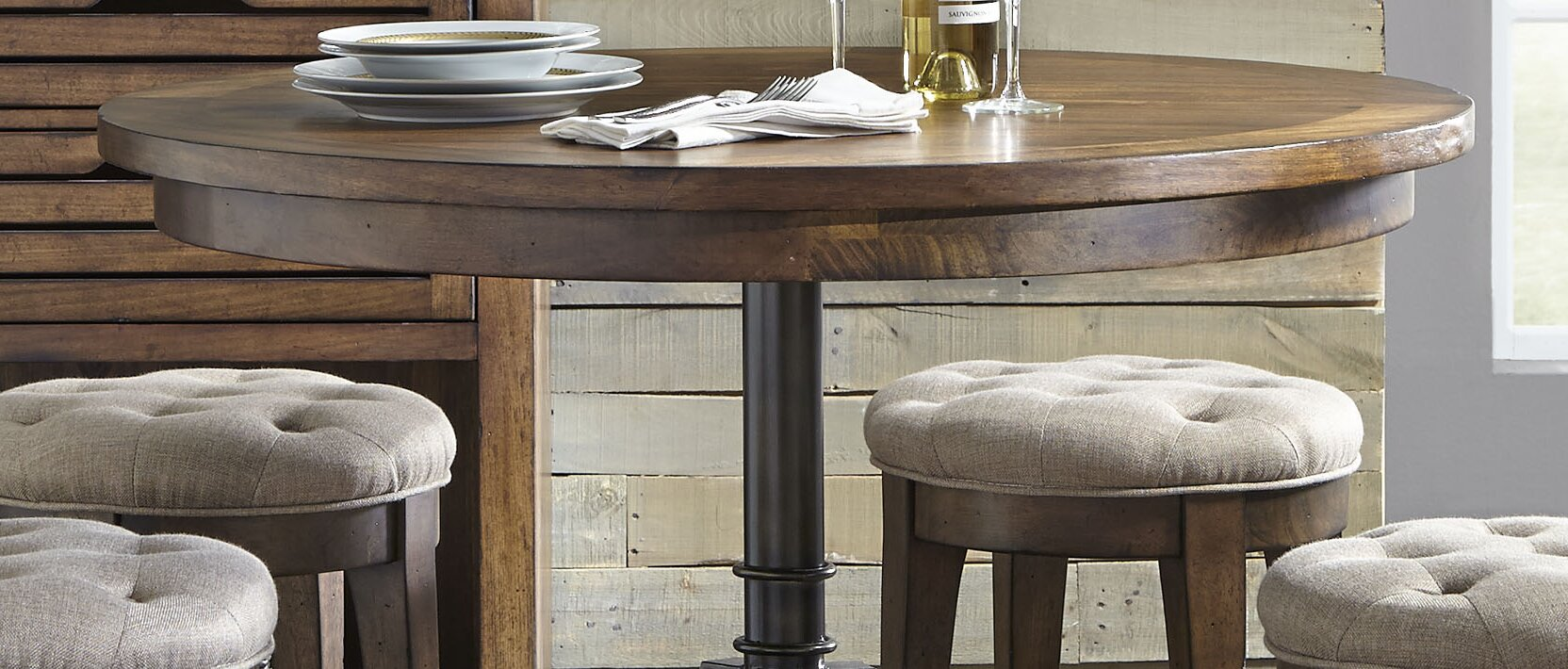 Williston Forge Tucker 5 Piece Dining Table Set Reviews