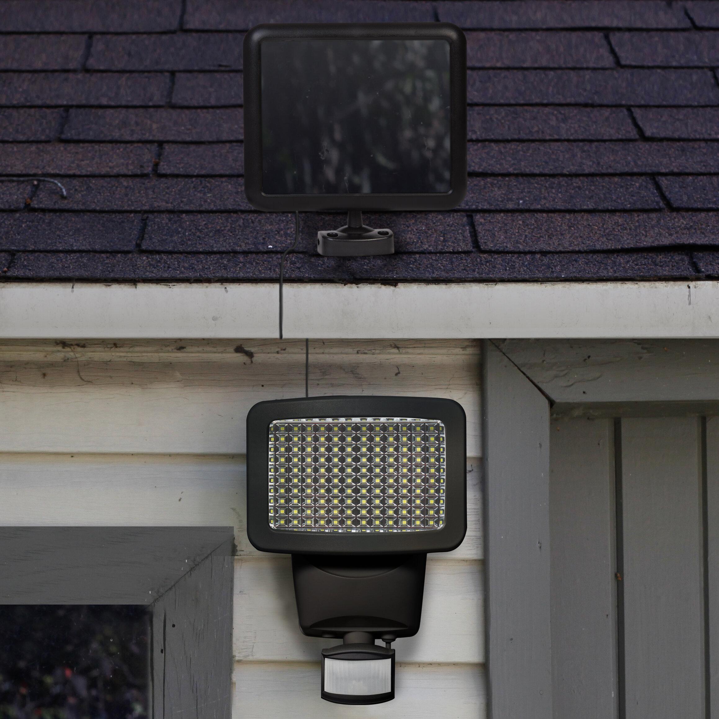 2 Solar Gutter Lights Driveway Doorway Pathway Patio Garden Balconies Security