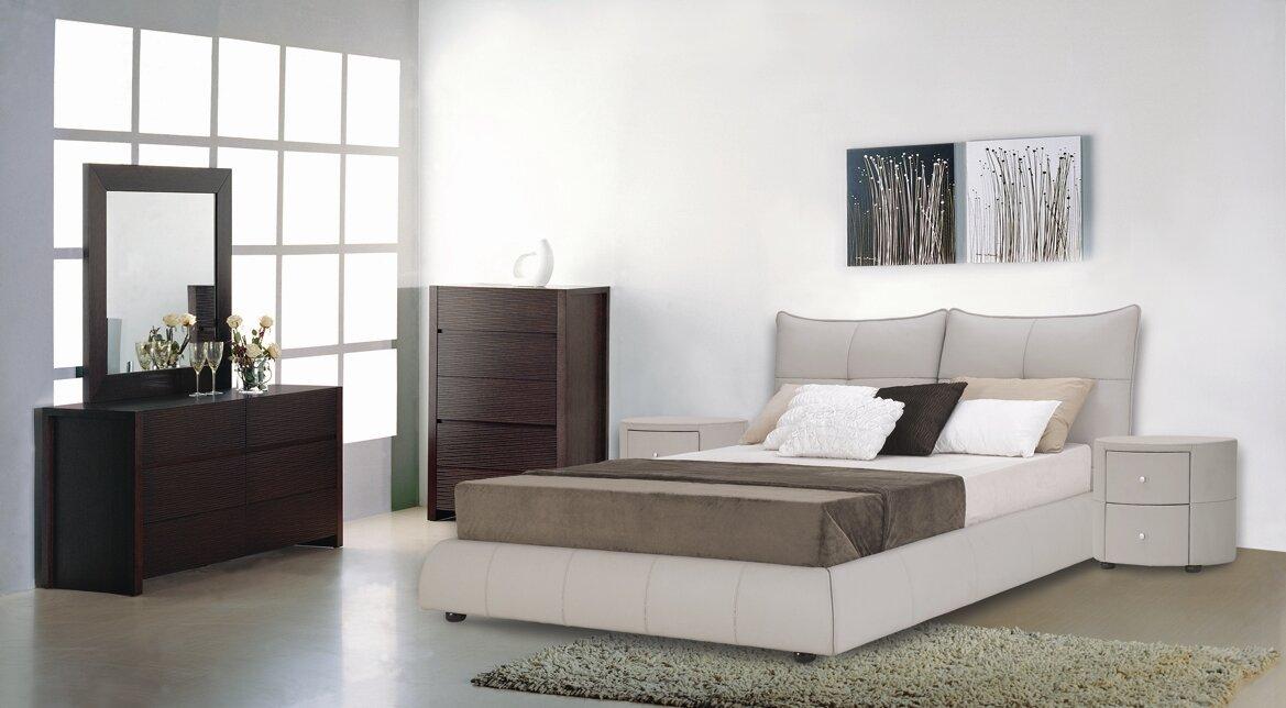 Excite Upholstered Platform Bed