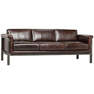 Mitsuru Leather Sofa by Noir