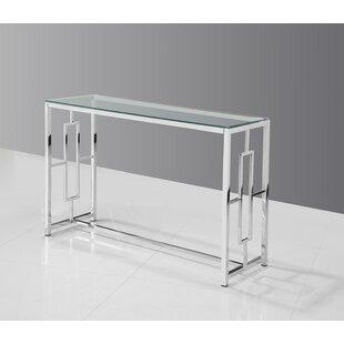 Glass Console Tables Youu0027ll Love | Wayfair