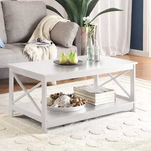 Superbe Antique White Coffee Table Set | Wayfair