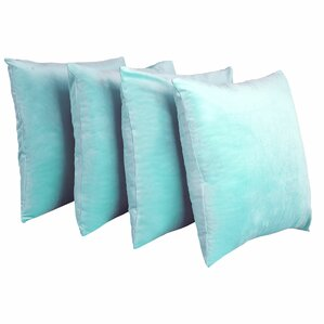 eason supersoft shell pillow cover set of 4