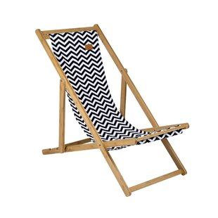 Soho Urban Outdoor Folding Deck Chair by Bo-Camp