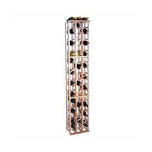 Premium Redwood 63 Bottle Floor Wine Rack by Wine Cellar Innovations