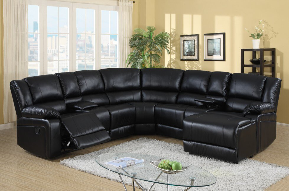 Bandini Reclining Sectional & Wildon Home ® Bandini Reclining Sectional u0026 Reviews | Wayfair islam-shia.org