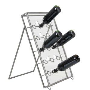 Crawford Metal Acrylic 30 Bottle Floor Wi..