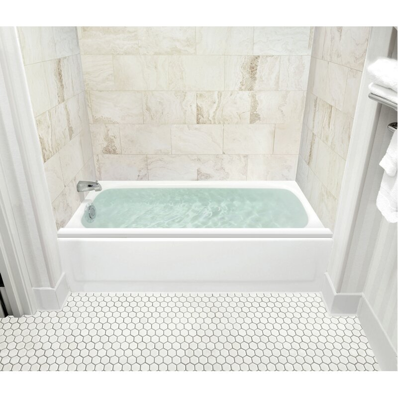 Charmant Jeff Deep Soak Tub Overflow Cover And Splash Guard Kit