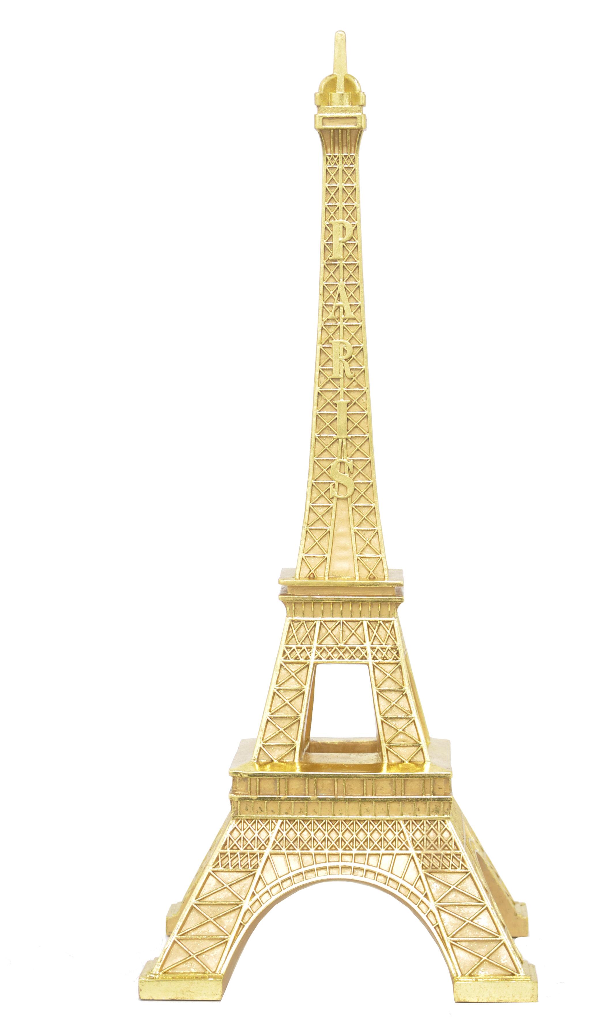 Three Hands Co. Resin Eiffel Tower Sculpture | Wayfair