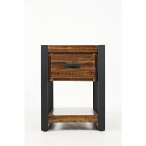 Ailey Wood End Table by Gracie Oaks