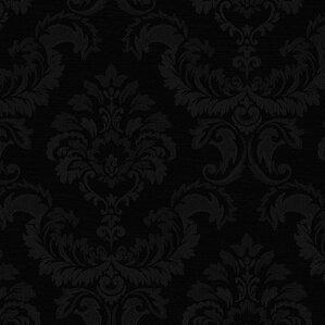 simply silks iii 327 x 205 damask wallpaper - Contemporary Damask Wallpaper