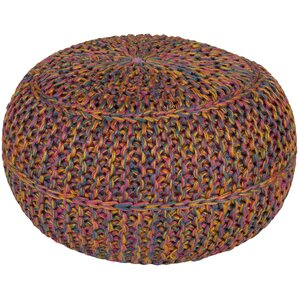 Arnold Pouf Ottoman by Bungalow Rose