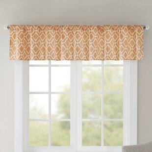 Orange Valances U0026 Kitchen Curtains Youu0027ll Love | Wayfair