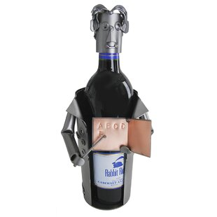 Teacher Male 1 Bottle Tabletop Wine Rack