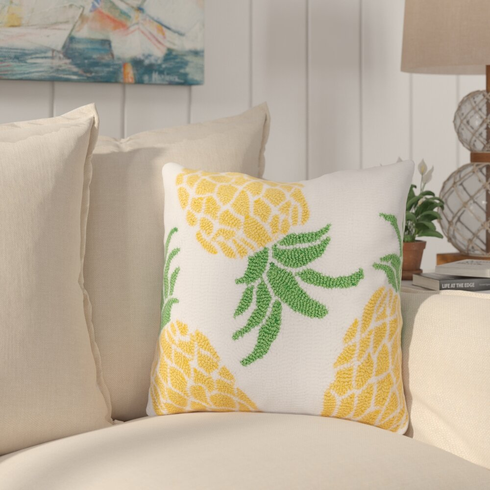 Table & Sofa Linens Self-Conscious Tropical Pattern Pillow Case Pineapple Pillow Covers Decorative Hot Sale Throw Pillows Fruit Cushions For Sofa Cover Cushion