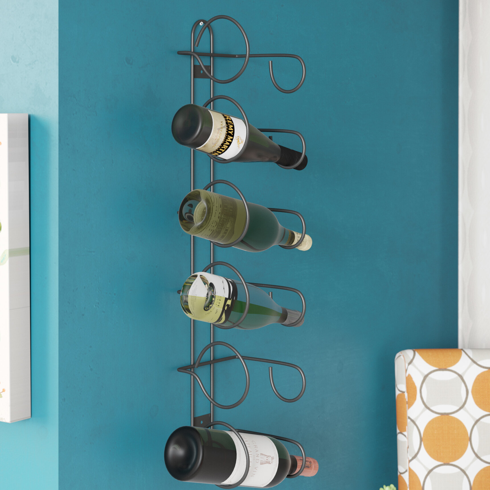 Zipcode Design Bianca 6 Bottle Wall Mounted Wine Rack Reviews