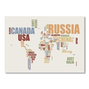 world map with words wayfair