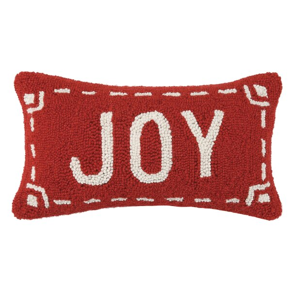 Fair Isle Joy Wool Throw Pillow & Reviews | AllModern
